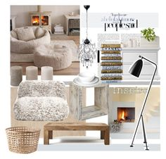 """""""January 6"""" by anny951 ❤ liked on Polyvore featuring interior, interiors, interior design, home, home decor, interior decorating, Flamant, Enchanté, Tvilum and Opinion Ciatti"""