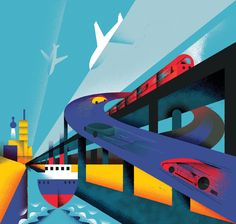 ICAEW Covers by Aron Vellekoop León, via Behance