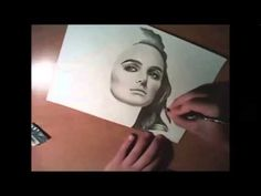 Natalie Portman speed pencil drawing ( A for Art ) - YouTube