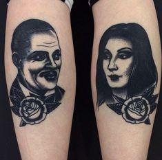 morticia tattoo - Google Search