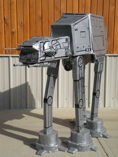 Star Wars Fan Builds Duct Tape AT-AT