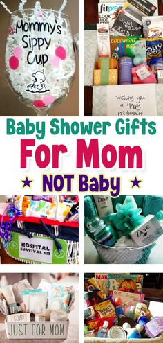 Baby Shower party Gifts For Mom NOT Baby - Unique Baby Shower Gifts For the Mom To Be. Non baby gifts for new moms too Diy Gifts For Mom, Christmas Gifts For Mom, Gifts For New Moms, Birth Gifts For Mom, Best New Mom Gifts, Unique Gifts For Girls, Best Baby Gifts, Simple Gifts, Best Friend Gifts