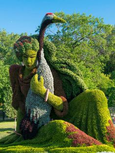 ༻⚜༺ ❤️ ༻⚜༺ Plant Sculpture Topiaries from Botanical Garden in Mosaiculture International~Montreal, Canada ༻⚜༺ ❤️ ༻⚜༺