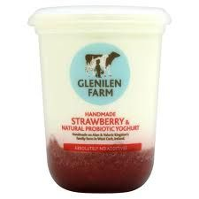 500g Strawberry yoghurt  Glenilen Farm