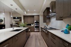 South Calgary House contemporary kitchen