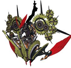 Clockwork God Chronos from Persona Q: Shadow of the Labyrinth