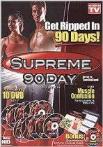 My new addiction- Supreme 90 day. The videos are short in manageable. I rather feel sore today than sorry tomorrow