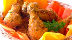 Home Recipes Crunchy Oven-Baked Chicken Drumsticks