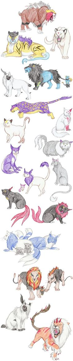 Cat Pokemon by DragonlordRynn on DeviantArt