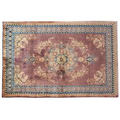 "7'6"" x 4'9"" ,Traditional area rug for sale, Area rug, Multi Color, Area Rug in Great Condition hand knotted, Code : S0101877"