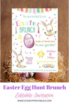 It is time to organize your Easter Egg Hunt!! Click on the link below to see our collection.  https://www.etsy.com/shop/iCandyPartyPrintable