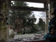 A Christmas window