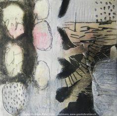 Rahel Suter, www.goodvibration.ch - Monotypie, Wachs, Tusche, Acryl, Bleistift und Filzstift auf Papier Rahel Suter www.goodvibration.ch - monotype, wax, ink, acrylic, pencil and marker on paper