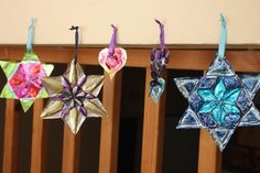 Sharpies+aluminum pan decoration  #sukkot, #chanukah, #jewishcraft