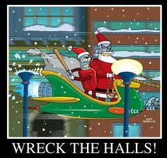 Futurama Christmas Episodes.14 Best Robot Santa Images Robot Santa Futurama Robot