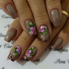 Perfect Colorful Floral Nail Design – 13 It's your turn to have great nails! Check out this year's most … Colorful Nail Designs, Nail Designs Spring, Toe Nail Designs, Beautiful Nail Designs, Pretty Toe Nails, Cute Nails, Vanessa Nails, Flower Nail Art, Creative Nails
