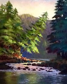Squirrel Cove. Soft pastel. Squirrel, Pastel, Boat, Paintings, River, Watercolor, Portrait, Nature, Outdoor