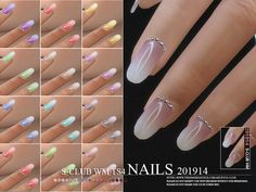 Nails, 15 swatches, hope you like, thank you. Found in TSR Category 'Sims 4 Female Rings' Sims Four, Sims 4 Tsr, Hair The Sims 4, The Sims 4 Skin, Sims 4 Mods Clothes, Sims 4 Clothing, Sims 4 Nails, Cc Nails, Vêtement Harris Tweed