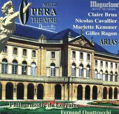 16466534 ROSSINI / PHILHARMONIE DE LORRAINE / QUATTROCCHI - ARIAS -  1 CD