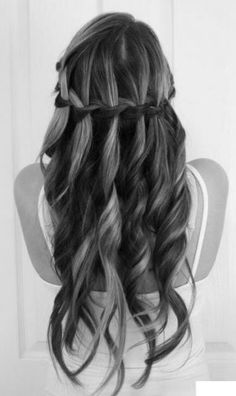 Waterfall curls