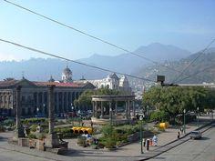 Plaza   Quetzaltenango, Guatemala