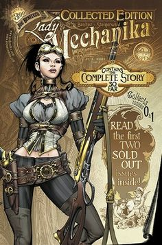 AspenStore.com | Lady Mechanika # 0 / #1 Collected Edition ON SALE