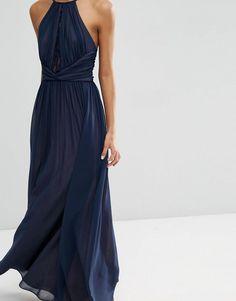 ASOS | ASOS Lace Insert Maxi Dress at ASOS