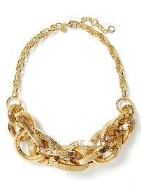 Glimmer Glamour Statement Necklace