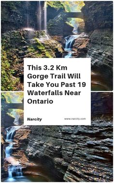 This 32 KM Gorge Trail Will Take You Past 19 Waterfalls Near Ontario This Spring - Travel tips - Travel tour - travel ideas Weekend Trips, Day Trips, Places To Travel, Places To See, Watkins Glen State Park, Voyage Canada, Canadian Travel, Canadian Rockies, Ontario Travel