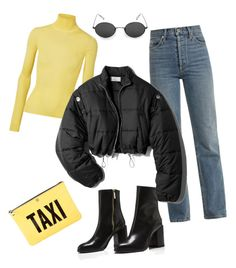 """Untitled #127"" by guseva2504 ❤ liked on Polyvore featuring Calvin Klein 205W39NYC, Eve Denim, 3.1 Phillip Lim and Kate Spade"