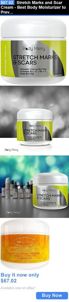 Scar and Stretch Mark Reducers: Stretch Marks And Scar Cream - Best Body Moisturizer To Prevent And Reduce Ol... BUY IT NOW ONLY: $67.02