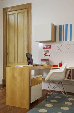 Escritorio R Módulos Vs Corner Desk, Furniture, Home Decor, Desks, Corner Table, Decoration Home, Room Decor, Home Furniture, Interior Design