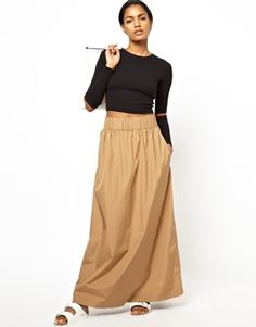 BACK by Ann-Sofie Back Maxi Skirt