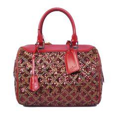 Louis Vuitton Bead Sheet Flower Speedy M92110 Bordeaux