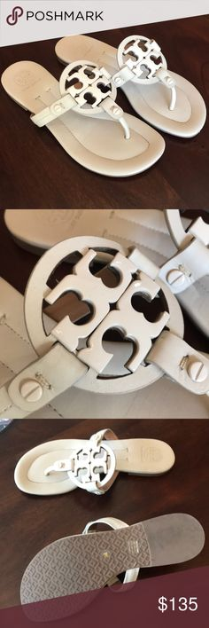 Tory Burch Dulce de Leche Miller Sandal Size 5 Popular Miller Style in Awesome Condition! Tory Burch Shoes Sandals