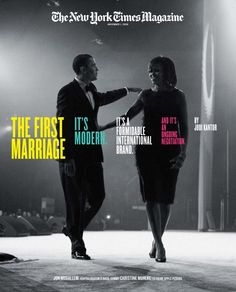 The Obama marriage; New York Times magazine cover story New York Times News, New York Times Magazine, New Times, Magazine Wall, My Magazine, Magazine Cover Design, Magazine Covers, Vogue, Texts
