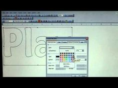 Create appliques using Microsoft Word