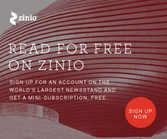 Zinio: Free Mini-Subscription Plus $5.00 Credit | The Beauty of it all