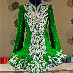 celtic star. Single color with white embroidery, but this is much denser