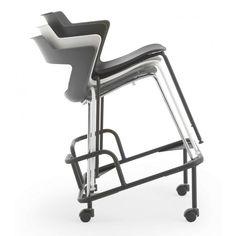 Scaune de birou ergonomice si conferință Scaun Aoki Ergonomic rotativ cu brațe Antares Chair, Interior, Furniture, Home Decor, Decoration Home, Indoor, Room Decor, Home Furnishings, Stool
