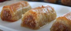 Ζουμερά μηλοπιτάκια με φύλλο κρούστας Δείτε μια φανταστική συνταγή για ζουμερά μηλοπιτάκια που θα την αγαπήσετε! Το μυστικό είναι να μην πετάξουμε τον χυμό από τα μήλα αλλά τον χρησιμοποιούμε στο σιρόπι! Αξίζει οπωσδήποτε την προσπάθεια! Υλικά 1,5 Butter Squash Recipe, Greek Sweets, Fruit Pie, Apple Pear, Greek Recipes, Baked Potato, Nutella, Deserts, Food And Drink