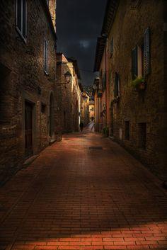 Paciano lights and shadows! by Nicodemo Quaglia