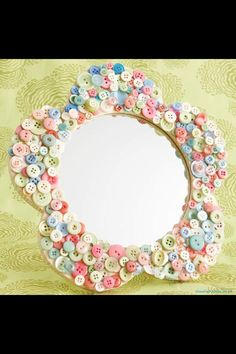 Pretty for girls room - just like my sister and niece make.