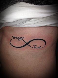 Infinity tattoo - Faith and Fate