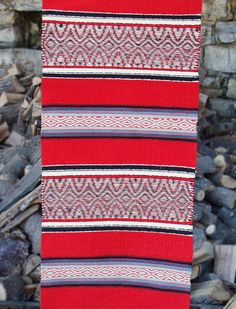 Could order in blue, white, gray and green/teal colors - custom Bulgarian rugs, made-to-order
