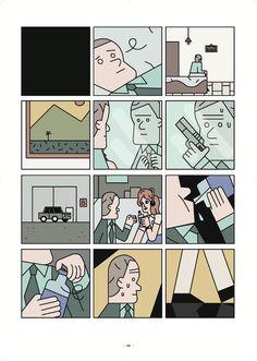 B comics ★ Fucilate a strisce. SHHH!  Andrea Chronopoulos.