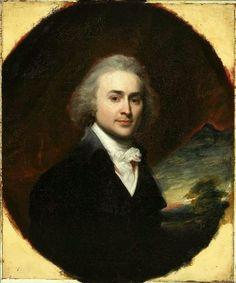 """John Singleton Copley """"John Quincy Adams."""" Museum of Fine Arts, Boston."""