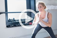 Home workouts may be confined to small spaces without much equipment, but that doesn't mean they're easy. Case in point: this 10-minute routine by Anna Kaiser, founder of AKT InMotion and trainer to Kelly Ripa, SJP, and Shakira. Don't be fooled by her...