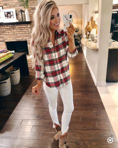 Sportliches Outfit mit Karohemd Outfits 2019 Outfits casual Outfits for moms Outfits for school Outfits for teen girls Outfits for work Outfits with hats Outfits women Style Outfits, Cute Fall Outfits, Sporty Outfits, Mode Outfits, Fall Winter Outfits, Autumn Winter Fashion, Fashion Outfits, Womens Fashion, Fashion Trends