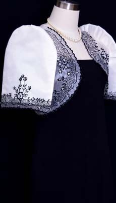 Barongsrus-Mestiza Bolero #5579 Barong Tagalog, Filipiniana Dress, Line Shopping, Butterflies, Embroidery, Suits, The Originals, Stylish, Floral